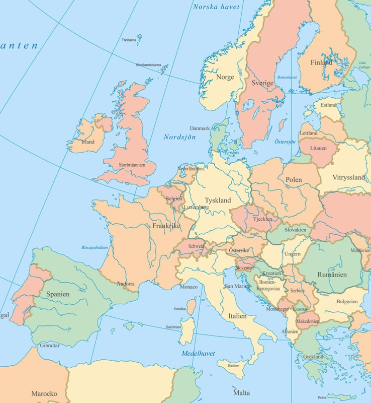 Romsk Karta